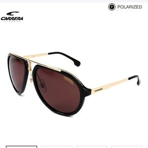 Carrera 1003/S Black & Gold Sunglasses